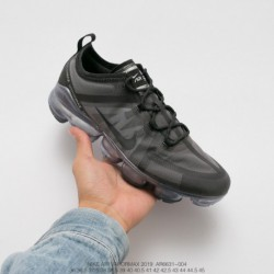 Ar6631-004 Nike Vapormax VM3·2019 Deadstock 19ss Season Deadstock Translucent Upper Air Max Jogging Shoes Off-White black plati