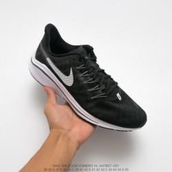 Ah7857-001 Nike Air Zoom Vomer 14 V14 Lunar Epic 14th Generation Breathable Trainers Shoes Black/Whit