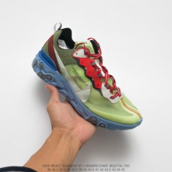 Bq2718-300 Nike Released Version Of FSR Undercover Leading Brand Crossover UNDERCOVER X Nike Upcoming React Element 87 Reaction