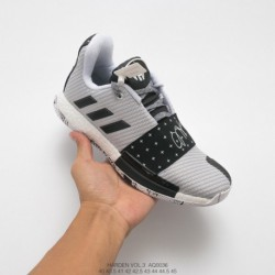 James-Harden-Basketball-Moves-James-Harden-Basketball-Sneakers-AQ0036-Adidas-HARDEN-LS-3-BUCKLE-Harden-three-generations-of-Kni