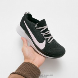 Ah8803-002 Nike 2018 Winter Deadstock Zoom Fly Knit Sportshoes Light Dress Wearing Comforters Shoes Choose Deadstock's Nike Rea