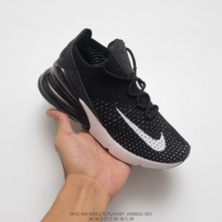 Ao1023-001 nike air 270 flyknit seat half palm air jogging shoes aliexpress high quality leisure sho