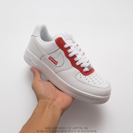 7227983dd Nike Air Force 1 Low Supreme,Nike Air Force 1 Low Premium,AR7719-100 Nike  Supreme x Nike Air Force 1 SP Low Classic Reproductio
