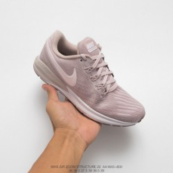 Aa1640-600 Nike AIR Zoom STRUCTURE 22 Lightweight Racing Shoes Structure After The Previous Generation