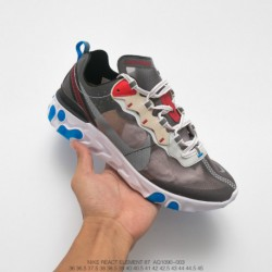 Aq1090-003 Nike Upcoming React Element 87 Colorway More Cool Full Palm React Cushioning Is Very Powerfu