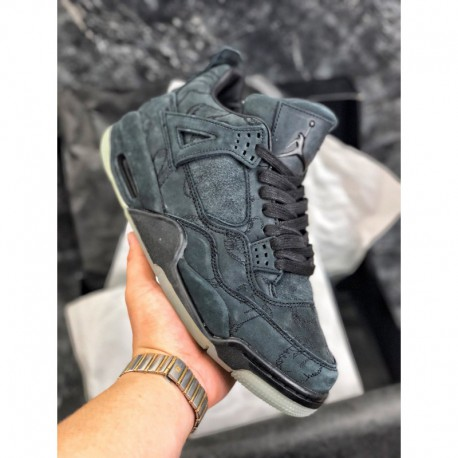 best service 65514 99483 KAWS Air Jordan 4 Retro Black,Black KAWS X Air Jordan 4,155-001 Jordan/  KAWS x Air Jordan 4 Black Graffiti Crossover all gray a