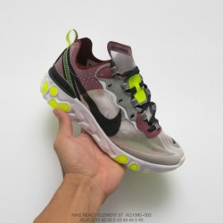 Aq1090-002 Nike Undercover Lead Brand Crossover UNDERCOVER X Nike Upcoming React Element 87 Reaction Element Translucent Avant-