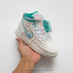 Aq5643-100 Nike Vandal High Supreme Qs Godfather Retro Nylon Street Dance High Basketball-Shoe