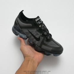 Ar6631-004 Nike Vapormax VM3·2019 Translucent Upper Air Max Jogging Shoes Off-White black-Plated paint base uses stylish design