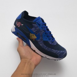 Nike-Air-Max-90-400-Nike-Air-Max-90-Mesh-Trainers-943-400-Nike-Air-Max-90-Ultra-20-Flyknit-Half-Palm-Air-Mesh-Breathing-Trainer