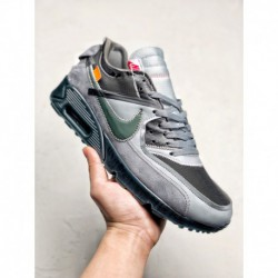 Aa7293-002 Nike OFF-WHITE X Nike Air Max 90 V2 Deadstock The Overall Use Of A Cool Gray Envelop