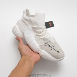 B43875 y-3 Byw Bbal Harden Exclusive Includes Three Pairs Of White Version Byw Bball Basketball-Shoe