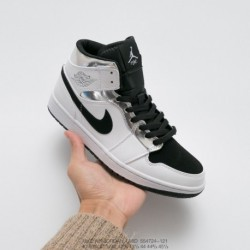 724-121 jordan/ Air Jordan 1 Mid Premium Aj1 Joe 1 Vintage Classic Mid All-Match culture basketball-Shoes little leonard liquid