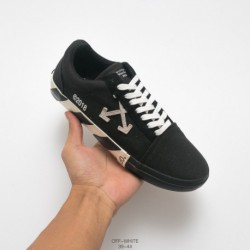 Off-white c/o Virgil Abloh Vulc Low Top Arrow Low Vulcanize Duck Skate Shoes Off-white Recently Released Its Deadstock Shoe