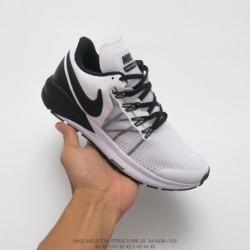 Aa1636-103 Nike AIR Zoom STRUCTURE 22 Lightweight Racing Shoes Structure After The Previous Generation