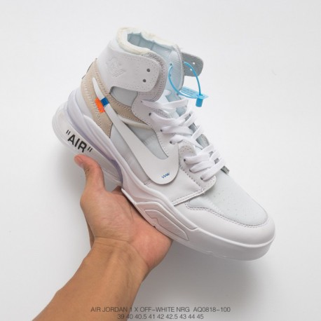 huge discount f569e 62f0e Nike Air Force 270 White,AQ0818-100 Nike Off white x AIR JORDAN 1 x Nike  Air Force 270 Air Force Mid Half Palm Air Function Jog