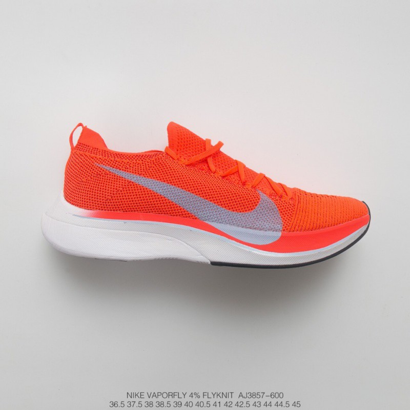 5dc78c58694ee ... Aj3857-600 Nike Vaporfly Flyknit 4% Flyknit Marathon Super Racing Shoes  Vermilion Off- ...