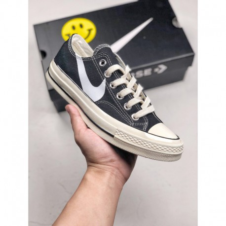 Chinatown Market X Nike X Converse Limited Edition Crossover This Time, The Classic Samsung Standard 70s Is Used As The Design