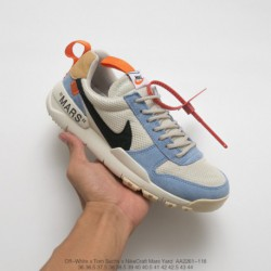 Aa2261-118 Nike Artist Tom Sachs Crossover X Nike Craft Mars Yar Astronaut Shenyou Space 2.0 Limited Edition Racing Shoes Vinta