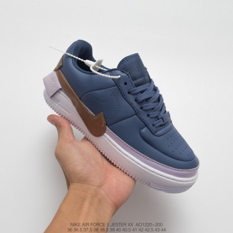 new arrivals b3ab7 d9e2b Nike Air Force 1 Jester Violet,Nike Air Force 1 Violet Mist,AO1220-100 Nike  Womens AF1 JESTER XX Violet Mist Fires Instagram a