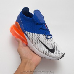 Nike air 270 flyknit seat half palm air jogging shoe