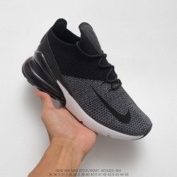 Nike-Max-270-Flyknit-Nike-Air-270-Flyknit-Seat-Half-Palm-Air-Jogging-Shoes