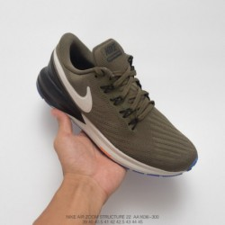 Aa1636-300 Nike AIR Zoom STRUCTURE 22 Lightweight Racing Shoes Structure After The Previous Generation