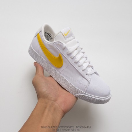 Aq5605-100 Open Season Special Nike Japan Harajuku Ys Channel Order Summer Ice Cream Nike BLAZER Low Pop Japan Limited Edition