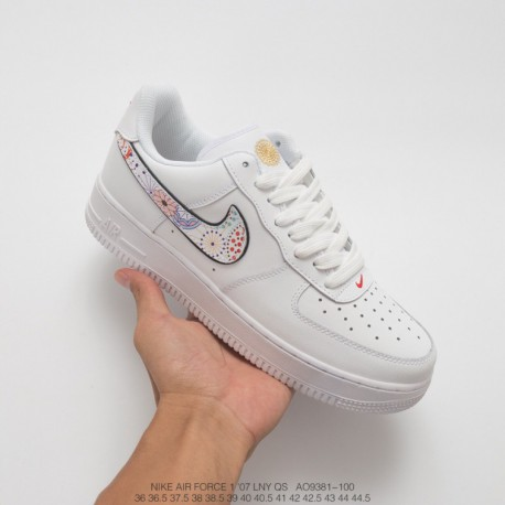 wholesale dealer 94675 19ad1 ... Chinese Year 2018 New Theme Injects F. New Sale! Ao9381-100 Nike Air  Force 1 Classic Air Force One Low Leather Skate Shoes Fireworks