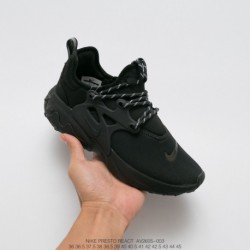 AV2605-700 nike presto react undercover legs up all-Match jogging shoes upper still using prest