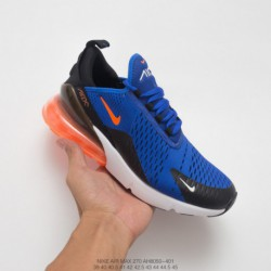 Ah8050-401 nike air max 270 seat air jogging shoes blue racing tigerlily deadstock's performance racing shoes 270 not only brin