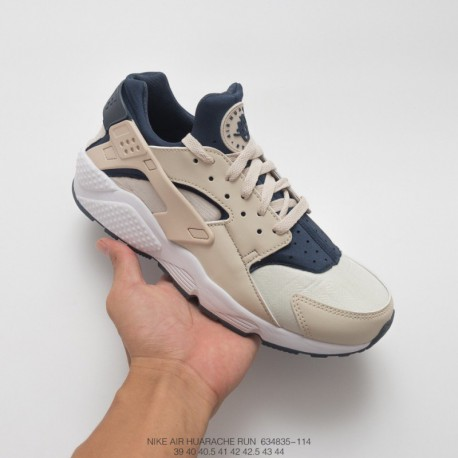 buy popular 22a1b 4e612 835-029 Nike Womens Air Huarache Wallace Vintage Jogging Shoes White Light  Grey Powder Foreole s
