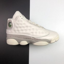 Jordan's First 13 Generations Of Womens Air Jordan 13 Aj13 Rose Gold 1:3d Holographic Smoke 2: Shoehouse Embroidery Without Any
