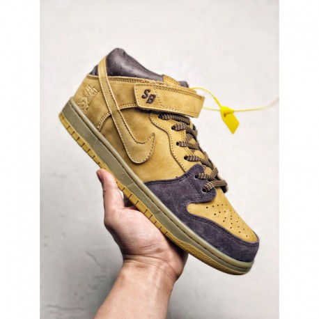 online store 22c47 03ab8 Nike Dunk SB MID,Nike Dunk SB Mid Lewis Marnell Legendary Slipper Crossover  This pair of Nike SB Dunk Mid Lewis Marnell injects