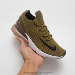 Ao1023-003 nike air 270 flyknit seat half palm air jogging shoe