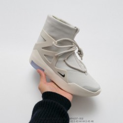 Ar4237-002 Nike Premium Taiwan Imports Upper Nappa Skin Waterproof Annual Shoe King Fear Of God X Nike Fear Of God 1 High Stree