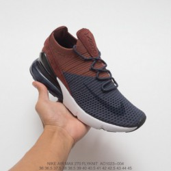 quality design 624a7 64d37 Nike Air Zoom 270,AO1023-003 Nike Air 270 Flyknit Seat Half Palm Air  Jogging Shoes