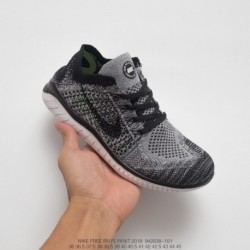 838-001 Nike Free FLYKINT 2018 Free 5.0 Second Generation Summer Deadstock Knitting Flyknit Racing Shoes Is Designed For Sprint