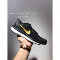 Nike FLEX 2018 Official Hot Cake Rn Free Running Sportshoes 898457 Equipped With Engineering Mesh Upper And Lightweight Flexibl