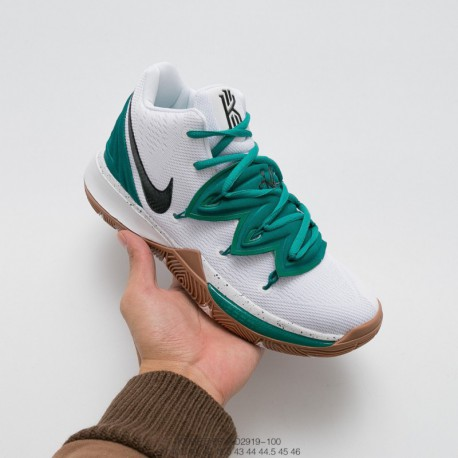 Ao2919-100 Nike Original Super Large Air Zoom Turbo Air Technology With Nike Kyrie 5 Irving 5 Indoor Actual Combat Basketball-S