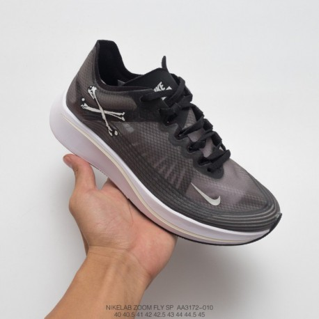 Aa3172-100 nike lab zoom fly sp flying marathon racing shoes trend fan jogging shoes to meet the rhyth