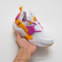 Nike-Huarache-5-Trophy-Pack-AH6804-102-Nike-Air-Huarache-City-Low-18-Edition-Wallace-City-Function-All-match-Jogging-Shoes-Whit