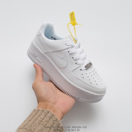 release date: d16b4 eabd9 Nike Sage Air Force 1,Nike Force Is Female Air Force 1,AR5339-201 Nike  Womens Air Force 1 Sage Low Thickened Muffin Revised Air