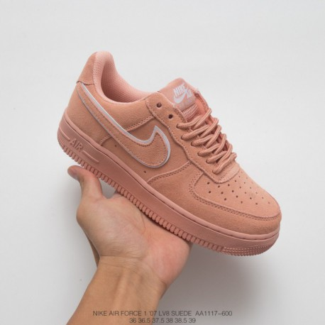 new arrival a3f2e a55ff Nike Air Force 1 07 Lv8 Suede Womens,Nike Air Force 1 07 Lv8 Black  Suede,AA1117-600 Nike Air Force 1 07 LV8 Suede Air Force One