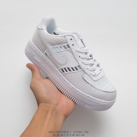 new arrival 21196 666a6 Nike Air Force 1 Low Upstep,Nike Air Force 1 Upstep,591-100 Nike W AF1  UPSTEP SI Mesh Air Force No. 1 L Blank Low Womens Summer