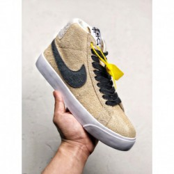 Nike Stüssy X Nike SB Zoom Blazer Mid Crossover The Design Is Full Of Wildnes