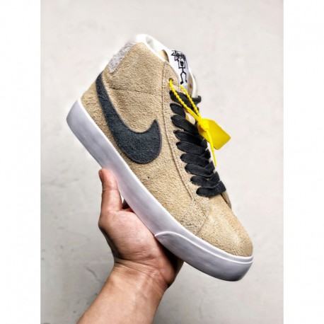 new arrival c1abb 134e6 Buy Nike Blazer MID,Nike Zoom Blazer MID,Nike Stüssy x Nike SB Zoom Blazer  Mid Crossover The design is full of wildness