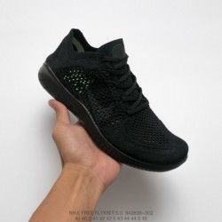 838-001 Nike Free Rn Flyknit Free 5.0 Deadstock Flyknit Breathable Jogging Shoes Black And White Free Is The Ideal Choice For W