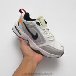 355-018 Nike Original No Sold Overseas Shoppe Synchronized Korean Wave Vintage Storm Off White X Nike Air Monarch IV Original D