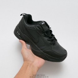 Nike Air Monarch IV Classic Vintage Daddy Sneaker Premium Leathe